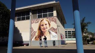 Un mural reivindica la labor de la investigadora Dolors Corella