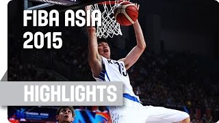 Korea v Kazakhstan - Group F - Game Highlights - 2015 FIBA Asia Championship