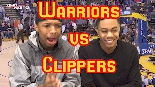 golden state warriors vs los angeles clippers 1 28 17 full highlights and reaction