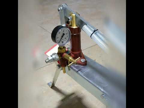 ручной инъекционный насос до 100 атмосфер #гидроизоляция