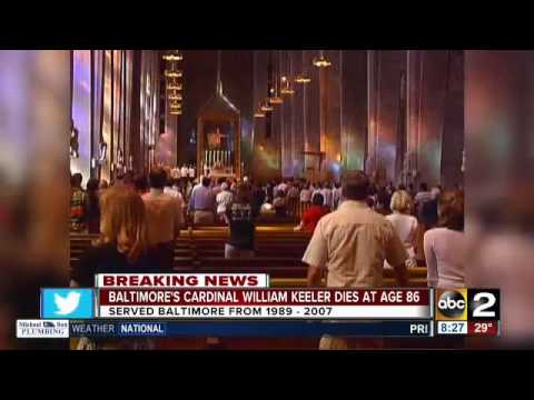 Cardinal William Keller dies at age 86