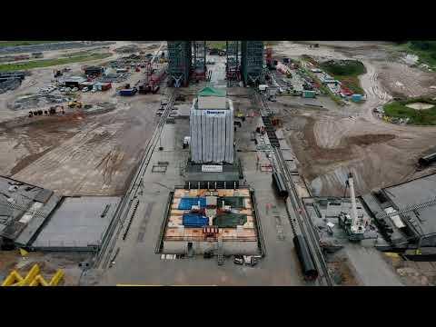 ELA4 - Chantier Ariane 6 - Janvier 2019