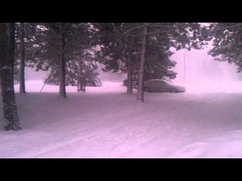 Snow storm in Mn April 18 2013