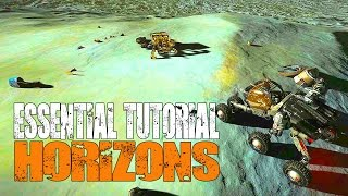 Elite: Dangerous Horizons - Getting Started - The Beginners Guide to Planet Landing & SRVs
