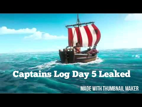 Thumbnail: Captains Log Day 5 Leaked