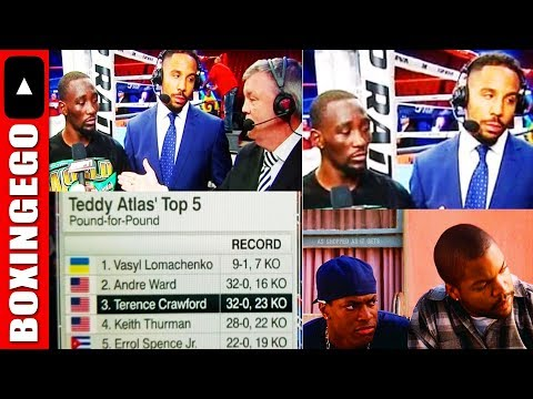 "Teddy Atlas ""Vasyl Lomachenko #1 P4P LIST over Andre Ward/Bud Crawford"" dissected by EGO/Boxingego"