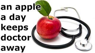 an apple a day keeps doctor away हिंदी में जाने | हिंदी in hindi | हिंदी में जाने