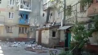 27 07 2014 был первый обстрел Горловки со стороны ВСУ