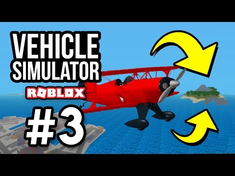 FLYING TO A SECRET ISLAND - Roblox Vehicle Simulator #3