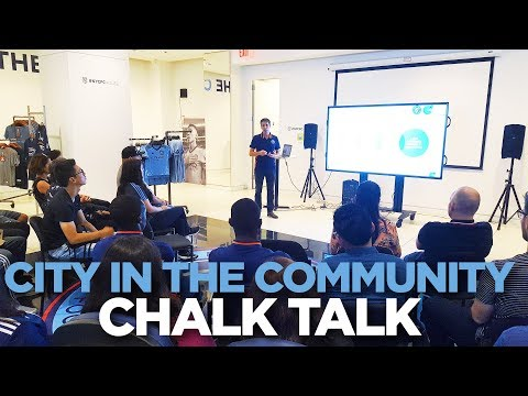 The impact of City in the Community | Chalk Talk | 09.17.17