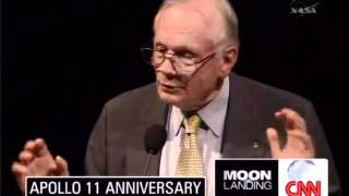 Moon Landing 40th Anniversary Rare speech from Neil Armstrong