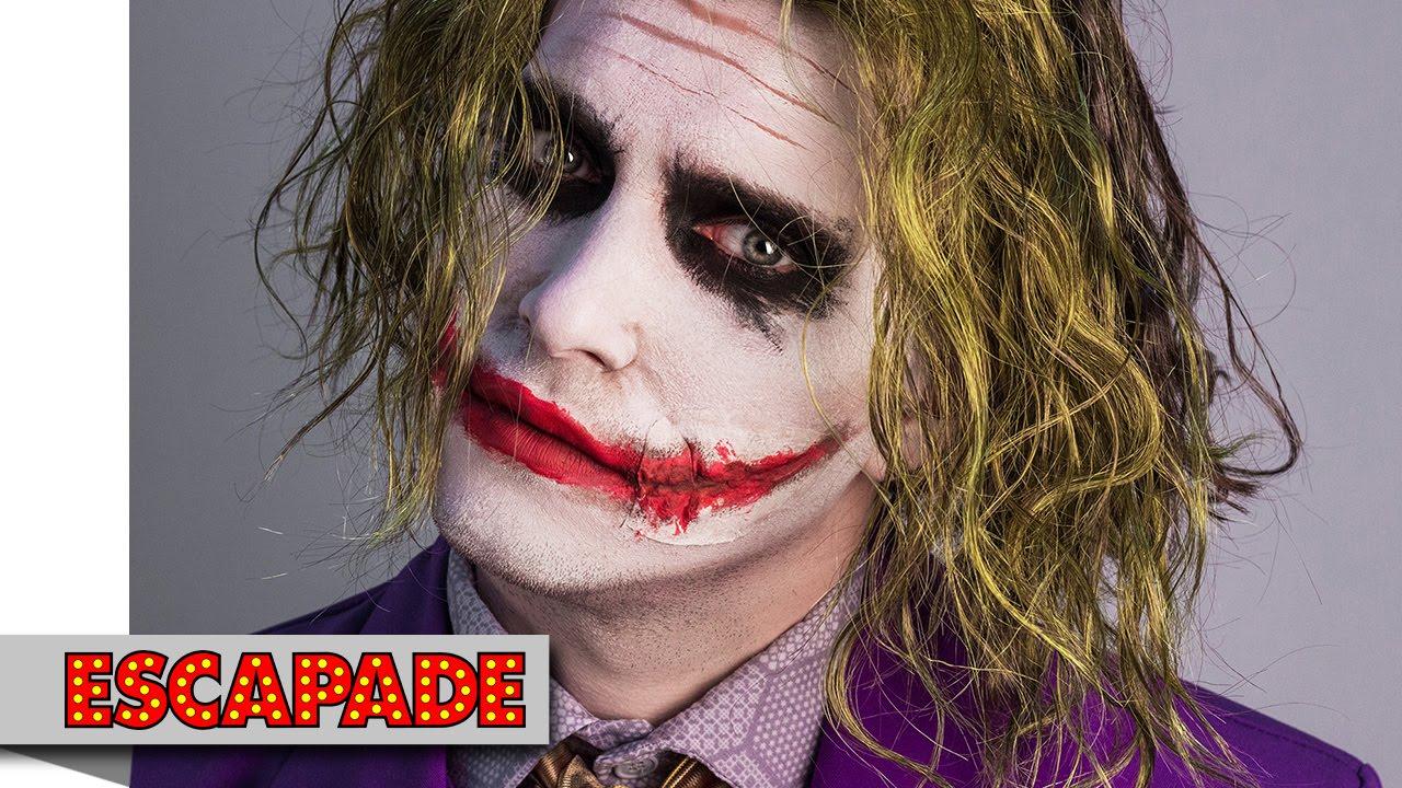 joker makeup tutorial - halloween makeup ideas - youtube