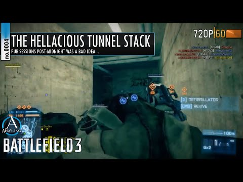 Battlefield 3 -  0004 - The Hellacious Tunnel Stack [MOTN]