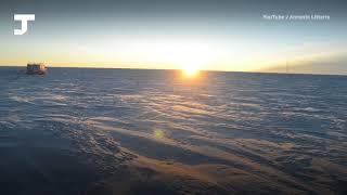 Как проходит зима на Южном полюсе