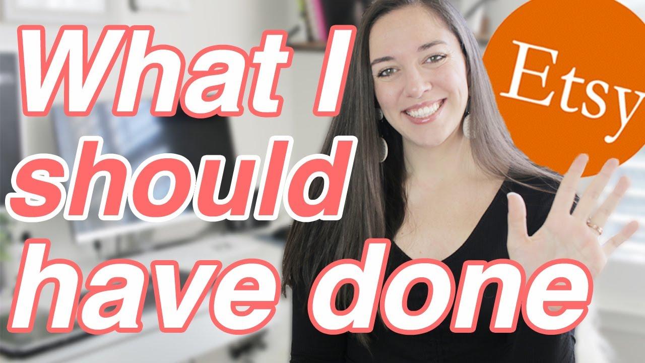 5 Things I Wish I Knew Before Opening My Etsy Shop, Etsy Shop Tips
