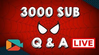 Fancy Q & A to Celebrate 3000 Subscribers! (While I play games)