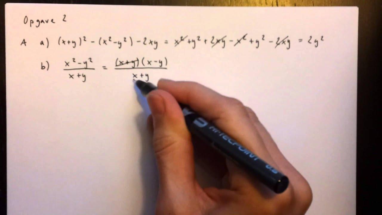 matematik prøve uden hjælpemidler