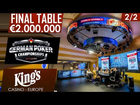 Final day - 2/2 | partypoker German Championship | King's Casino 2017