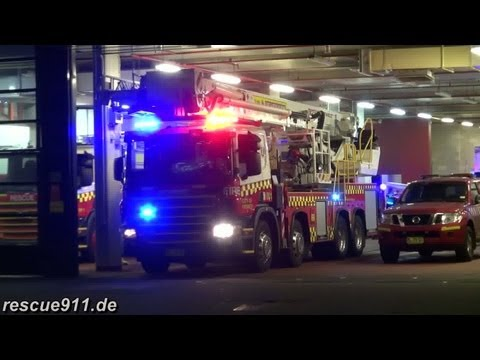Fire response City of Sydney Fire & Rescue NSW