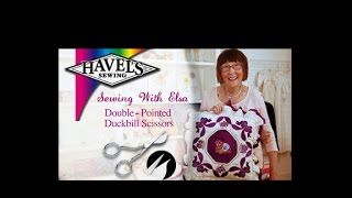 80042 double pointed duckbill scissors by havel s sewing