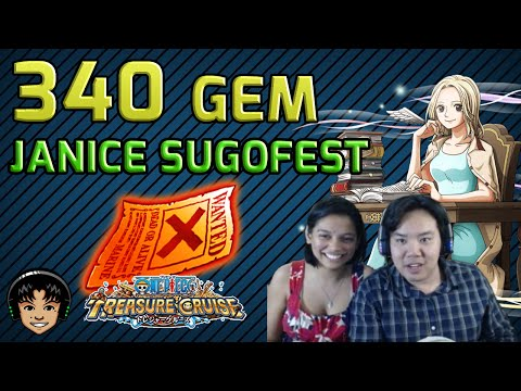 340 Gem Global Sugofest - Featuring Janice! [One Piece Treasure Cruise]