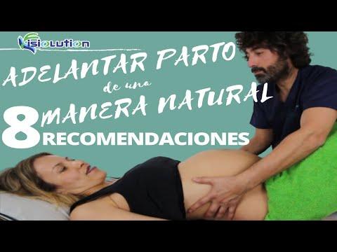 ejercicios para estimular parto natural