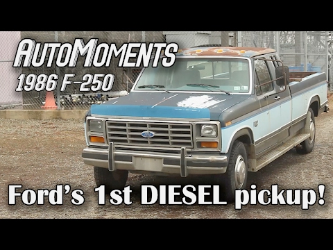 1986 Ford F-250 - History of Ford's 1st Diesel F-Series Truck | AutoMoments