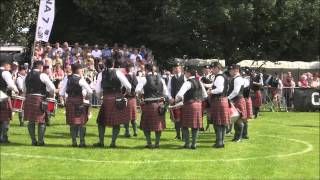 "Police Service Northern Ireland Pipes & Drums @ ""The Worlds"" 2012"