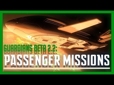 Elite: Dangerous - Passenger Missions