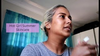 Hot girl Summer Morning Skin Routine || VLOGMAS 2019
