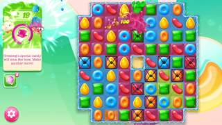 🍭🍬Candy crash jelly LV017 Прохождение, уровень 17, три в ряд, развивающая игра на андроид
