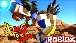 GOKU + VEGETA IN ROBLOX! (Roblox Dragon Ball Z)