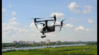 квадрокоптер (дрон) DJI Inspire 2 обзор