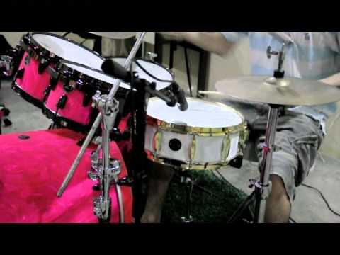 กลองชุดและสแนร์เมฆา  Meka B Series  Drumset and Snare