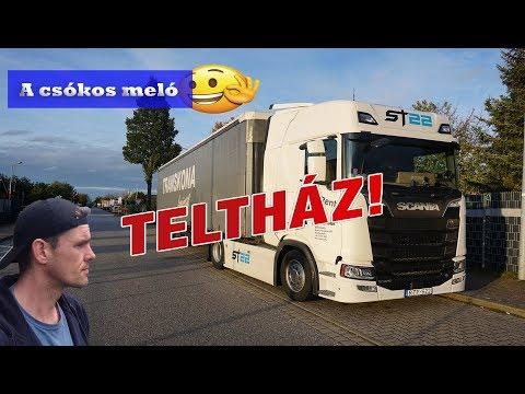 A kamionos egy napja - Csókos meló 1.rész