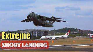 Baixar Brazilian Embraer KC-390 Spectacular Short Landing