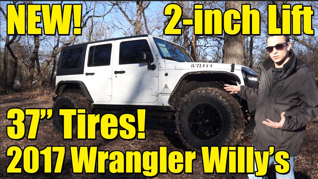 NEW!! Lifted Custom 2017 Wrangler! 2-inch Lift with 37 ...