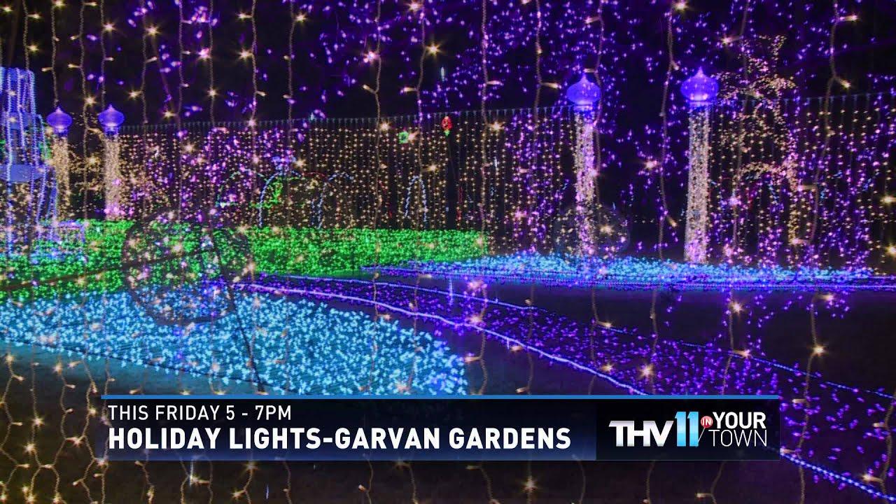 thv11 thv in your town garvan gardens 2015 - Garvan Gardens Christmas Lights