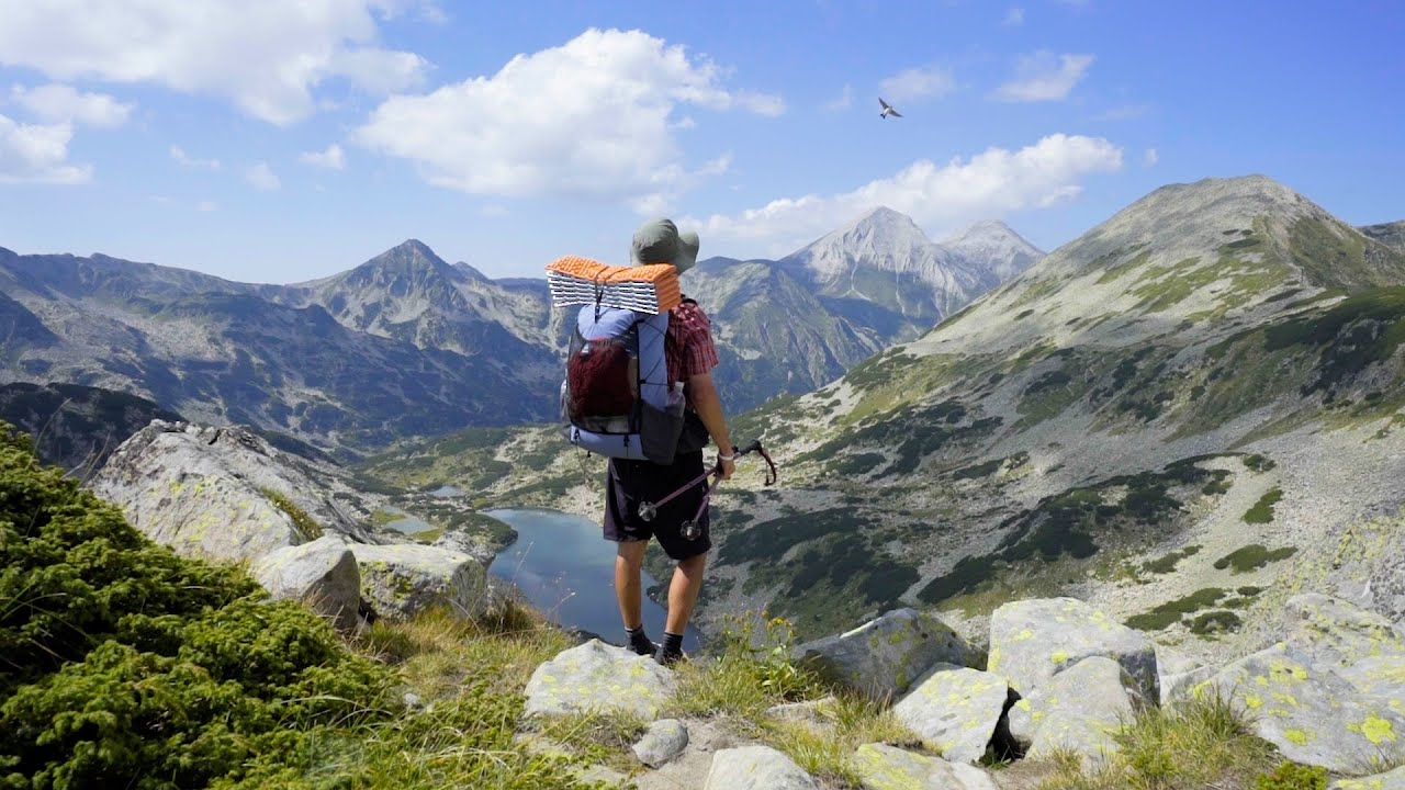 Download Hiking 260km on The Five Mountains Trail E4 in Bulgaria