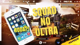 FREE FIRE: SQUAD NO ULTRA AINDA RODA NO IPHONE 5s?!