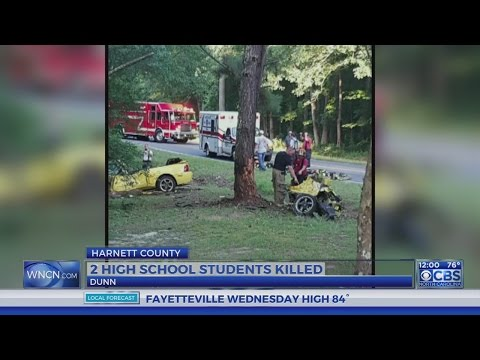 2 students dead after Tuesday night crash in Harnett County