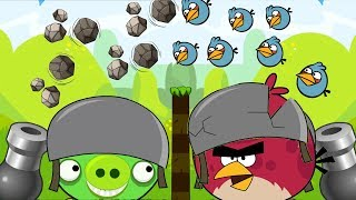 Angry Birds Cannon 2 - SHOOTING MAXIMUM UNLIMITED BIRDS TO BLASH HUGE PIGS!