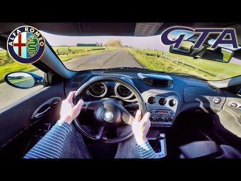 Alfa Romeo 156 GTA POV Test Drive & SOUND by AutoTopNL