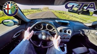 Alfa Romeo 156 GTA POV Test Drive & SOUND by AutoTopNL