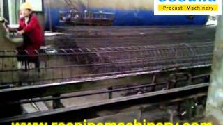 wire cage welding machine for pre-stress concrete  pole and pile