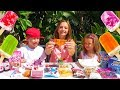 Мороженое ЧЕЛЛЕНДЖ или Ice Cream Challenge с КАТЕЙ и МАКСОМ мальчики против девочек mp3