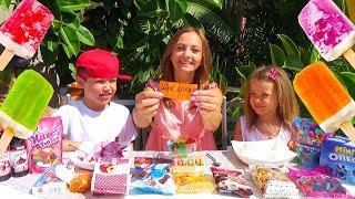 Мороженое ЧЕЛЛЕНДЖ или Ice Cream Challenge с КАТЕЙ и МАКСОМ / мальчики против девочек