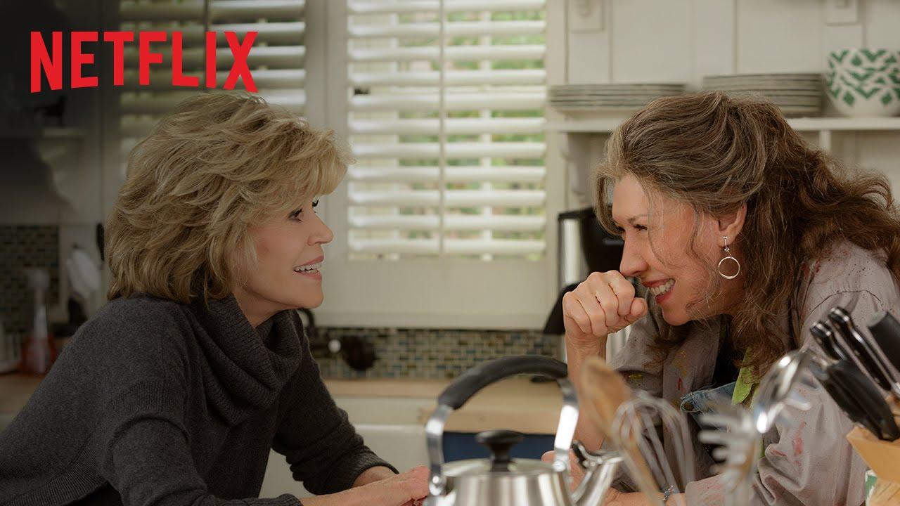 Grace and Frankie - Trailer oficial legendado - Netflix [HD]
