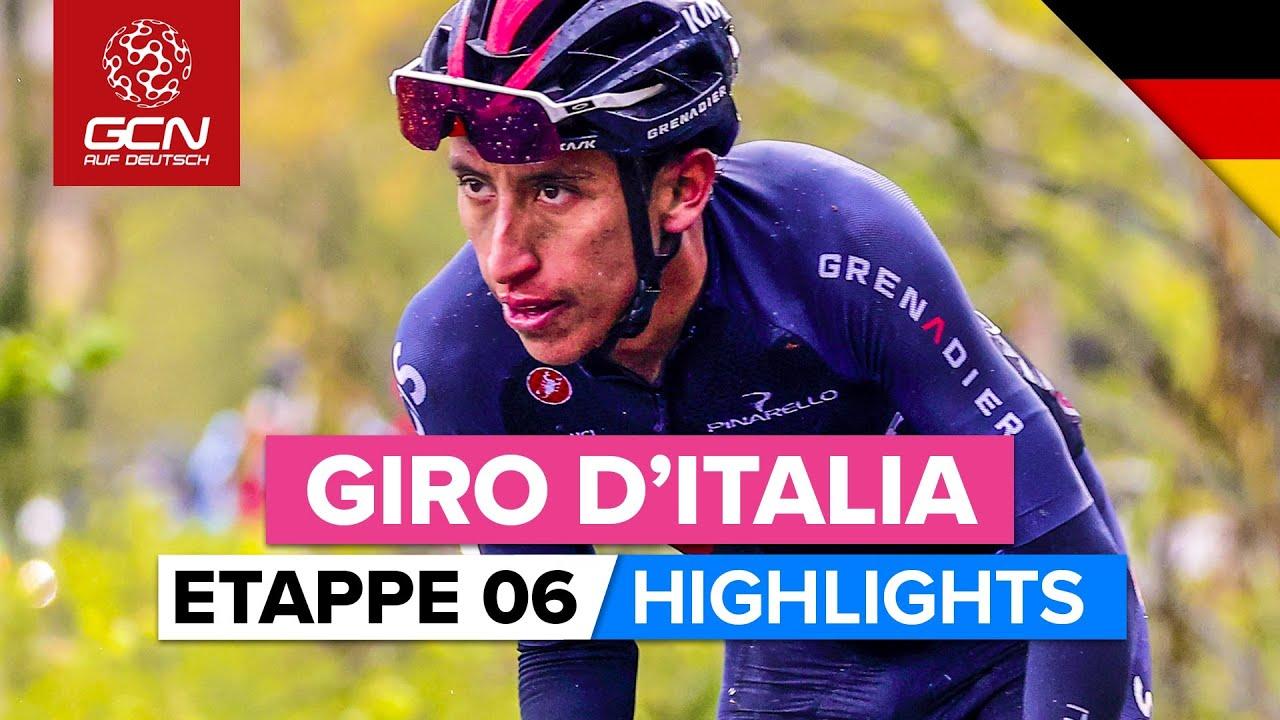 Giro d'Italia Etappe 6 Highlights