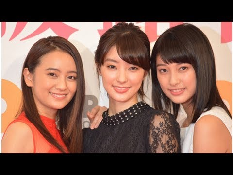 目標は米倉涼子!岡田結実、宮本茉由、玉田志織が女優宣言| News Mama